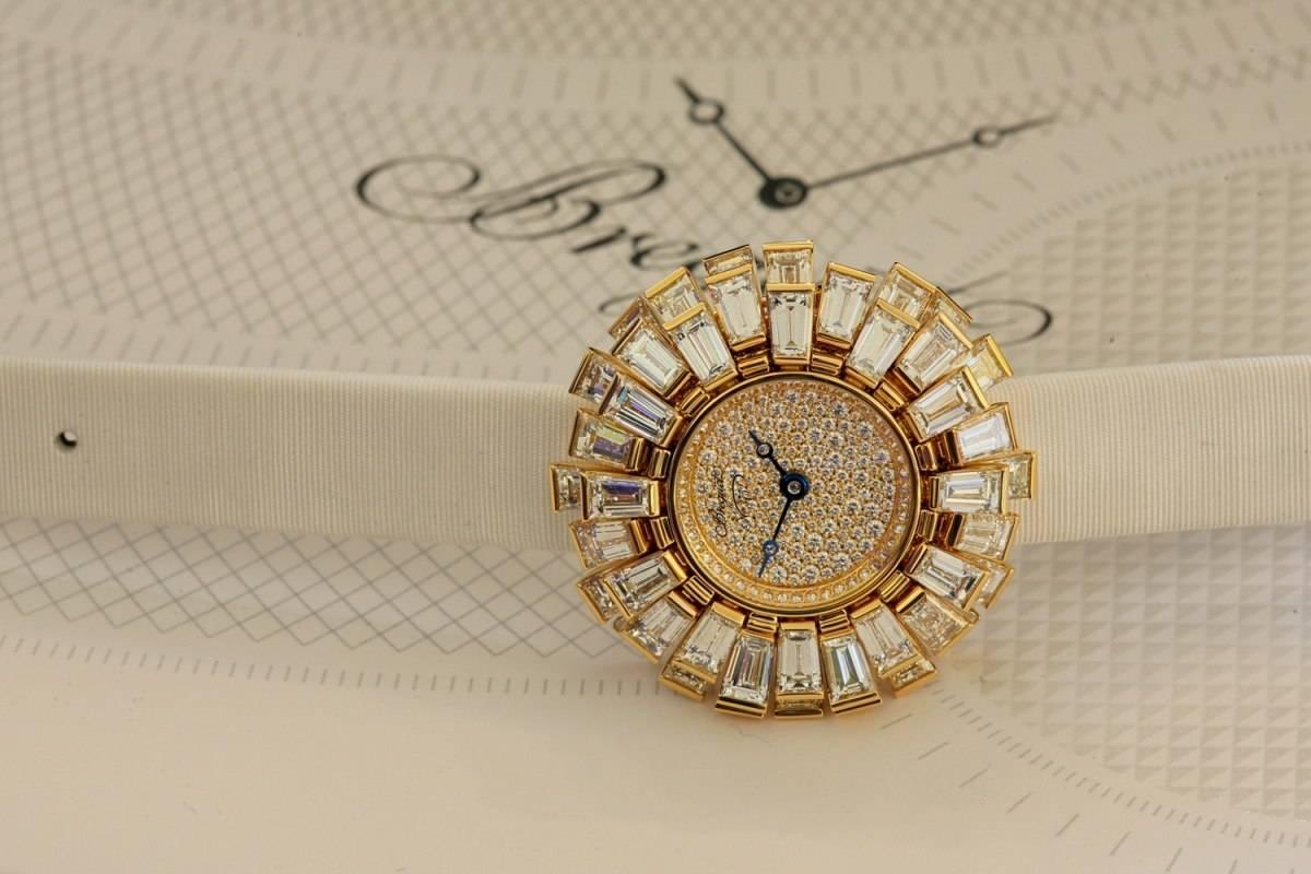 Haute Woman: Breguet Petite Fleur High Jewelry