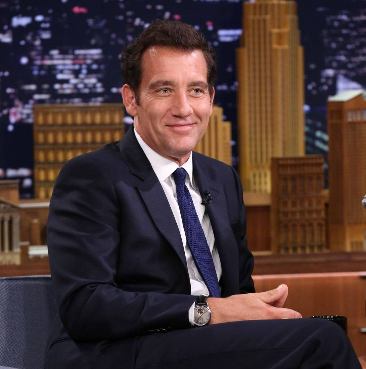 Clive Owen Spotted Wearing Jaeger-LeCoultre