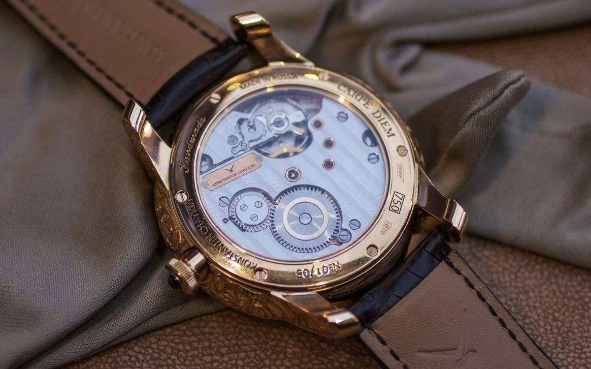 The Konstantin Chaykin Carpe Diem Skull Watch