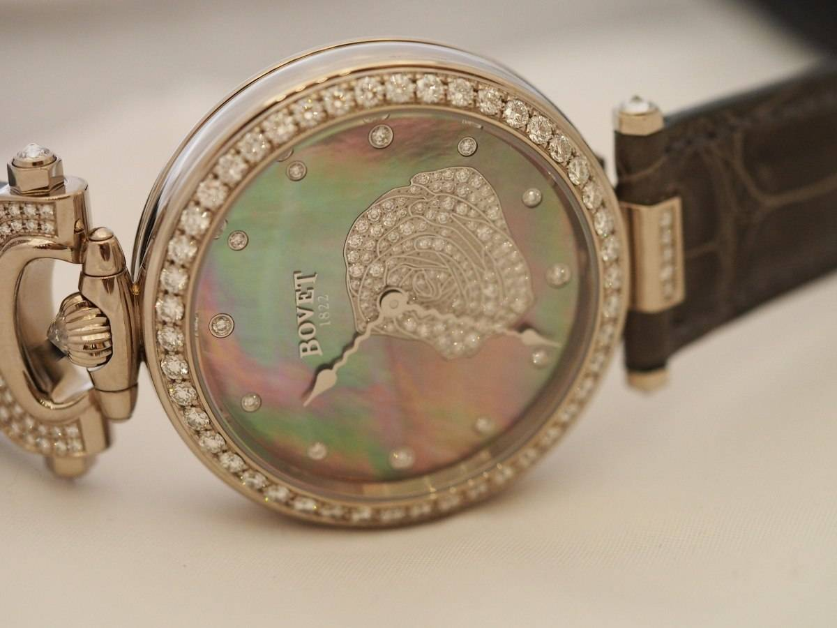 Bovet Mille Fleurs Rose Watch