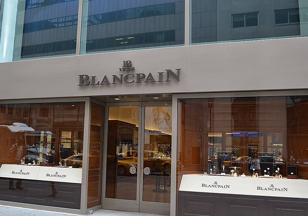 Haute Time Visits the New Blancpain Boutique in New York City