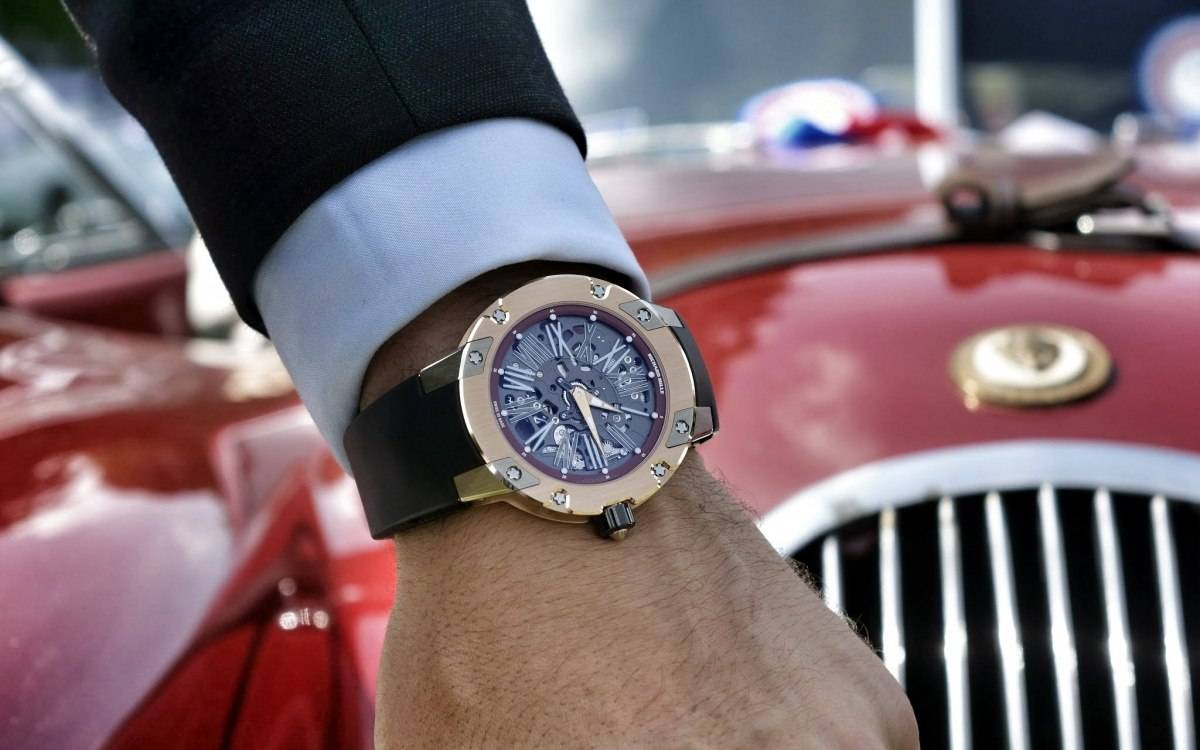 RM 030 at the Richard Mille Revives Arts & Elegance In Chantilly