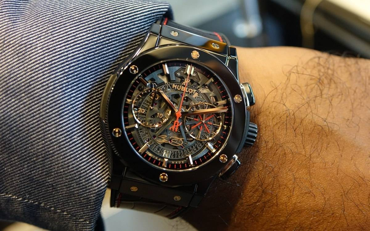 Haute News: Hublot Releases New Classic Fusion Dwyane Wade Watch