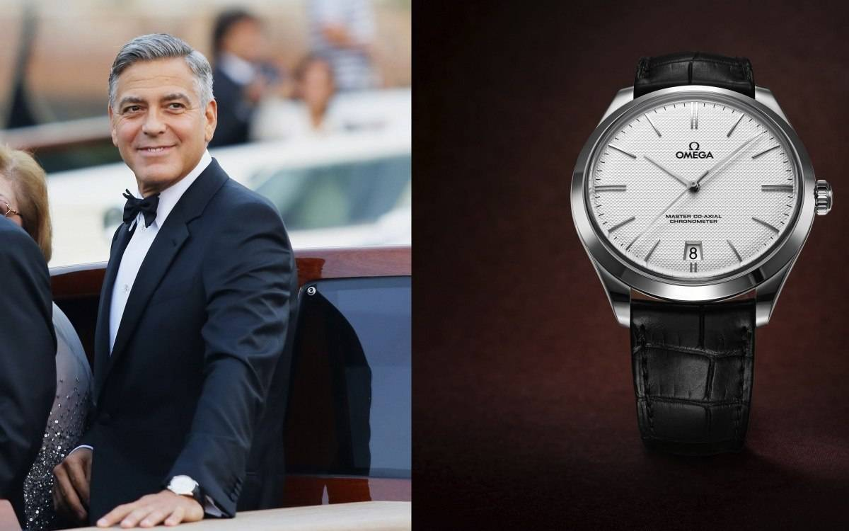 George Clooney Picks Omega For His Wedding Day