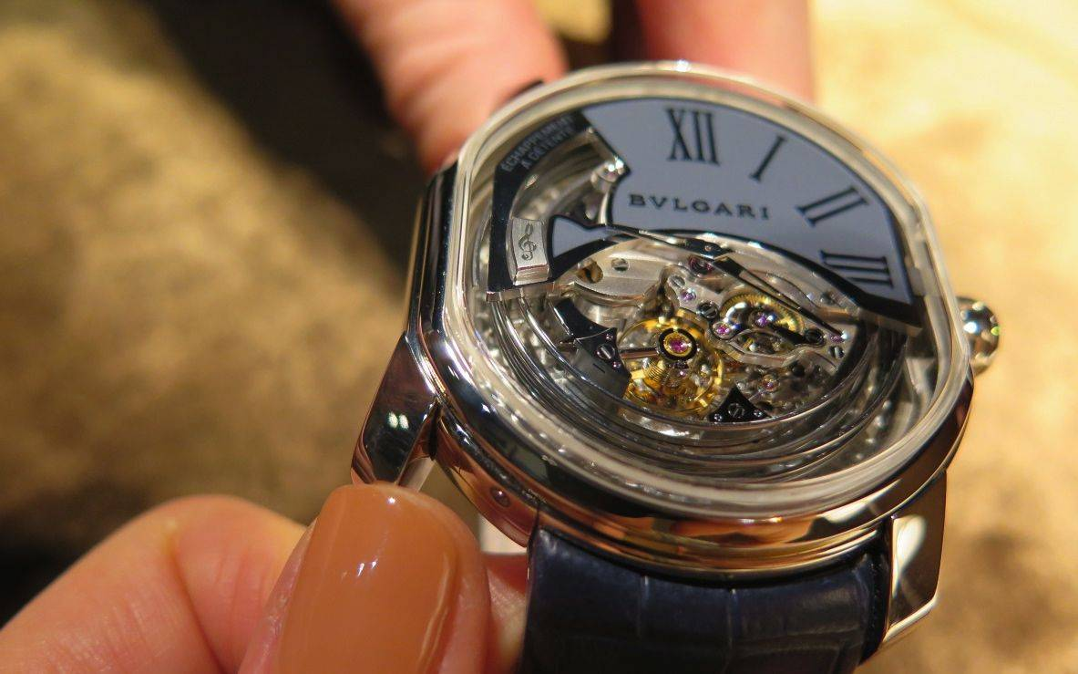 Bvlagri Ammiraglio del Tempo with minute repeater