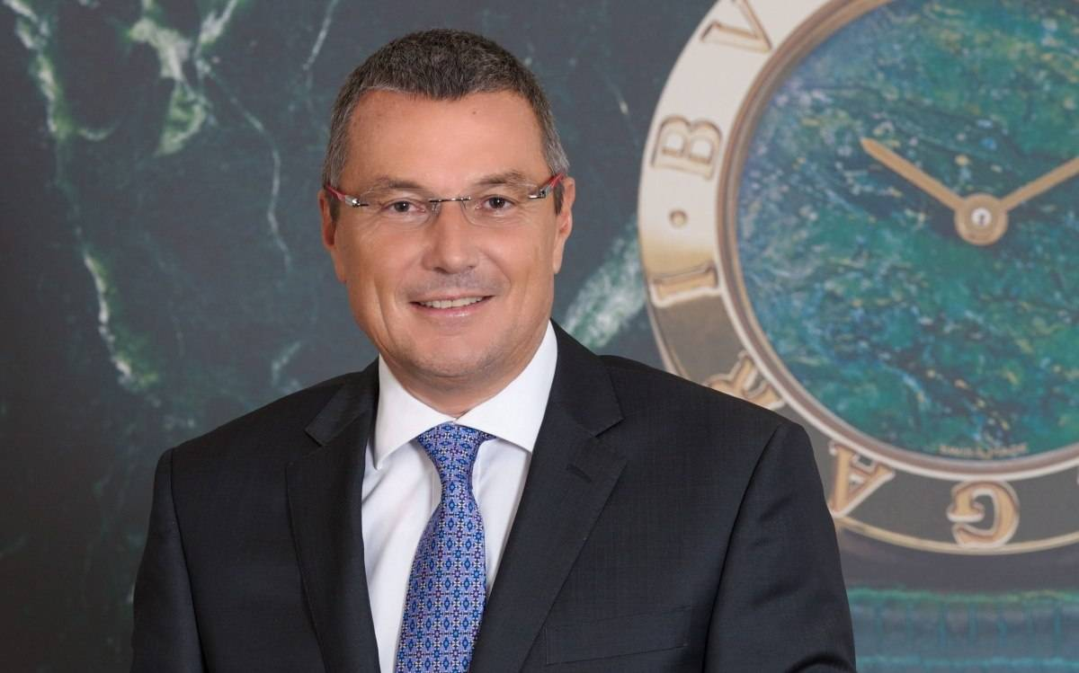 Bulgari CEO Jean-Christophe Babin