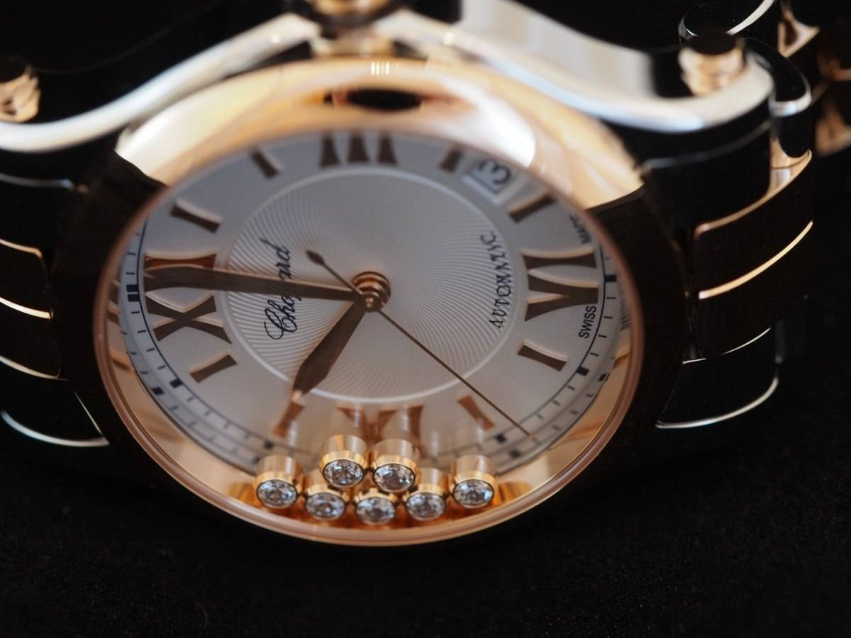 Hands On with the new Chopard Happy Sport Medium Automatic Two Tone