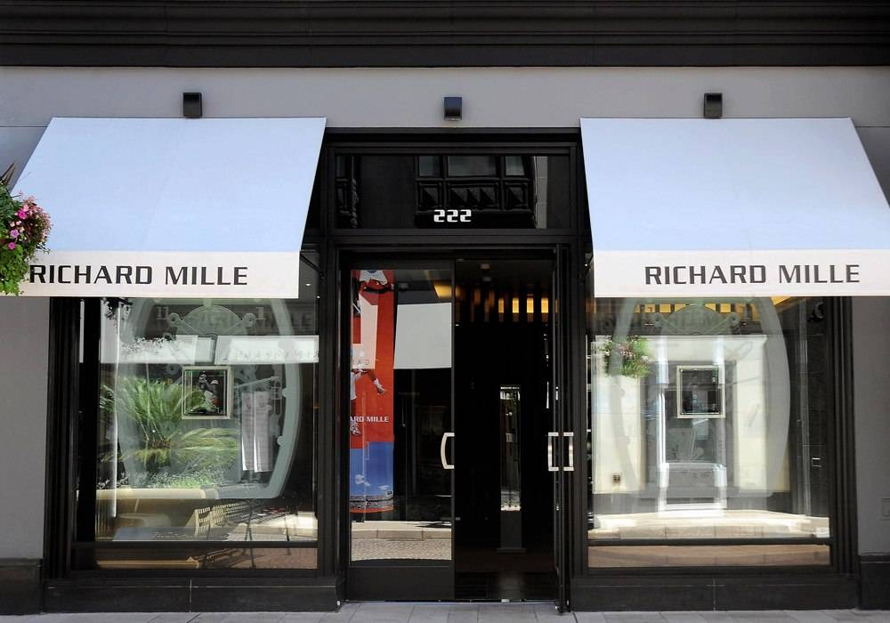 Haute Time Visits the Richard Mille Boutique in Beverly Hills, CA