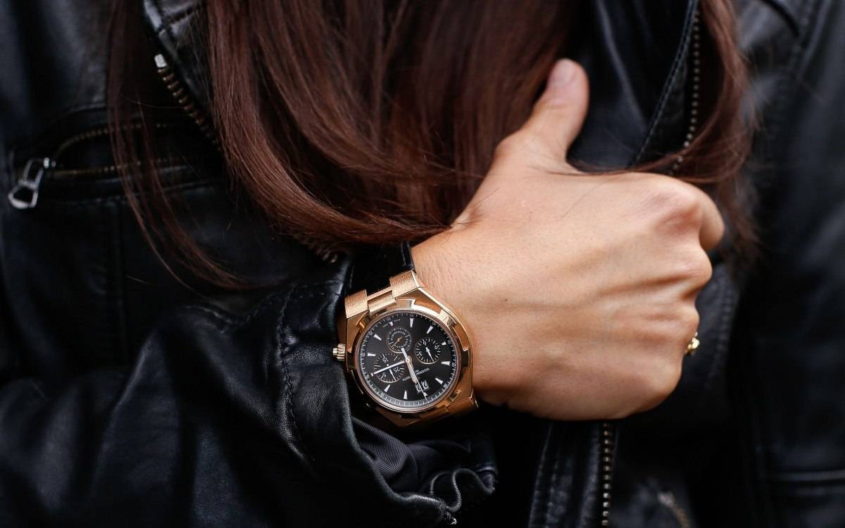 Vacheron Constantin Overseas Chronograph Worn by Women