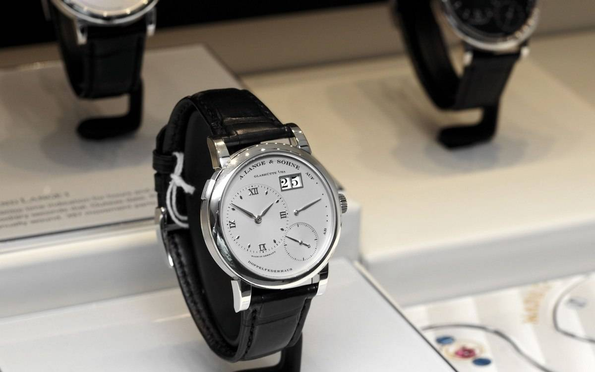 A. Lange & Söhne Lange 1 in white gold