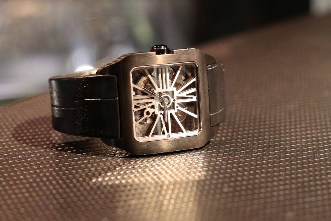 Cartier Santos-Dumont Skeleton