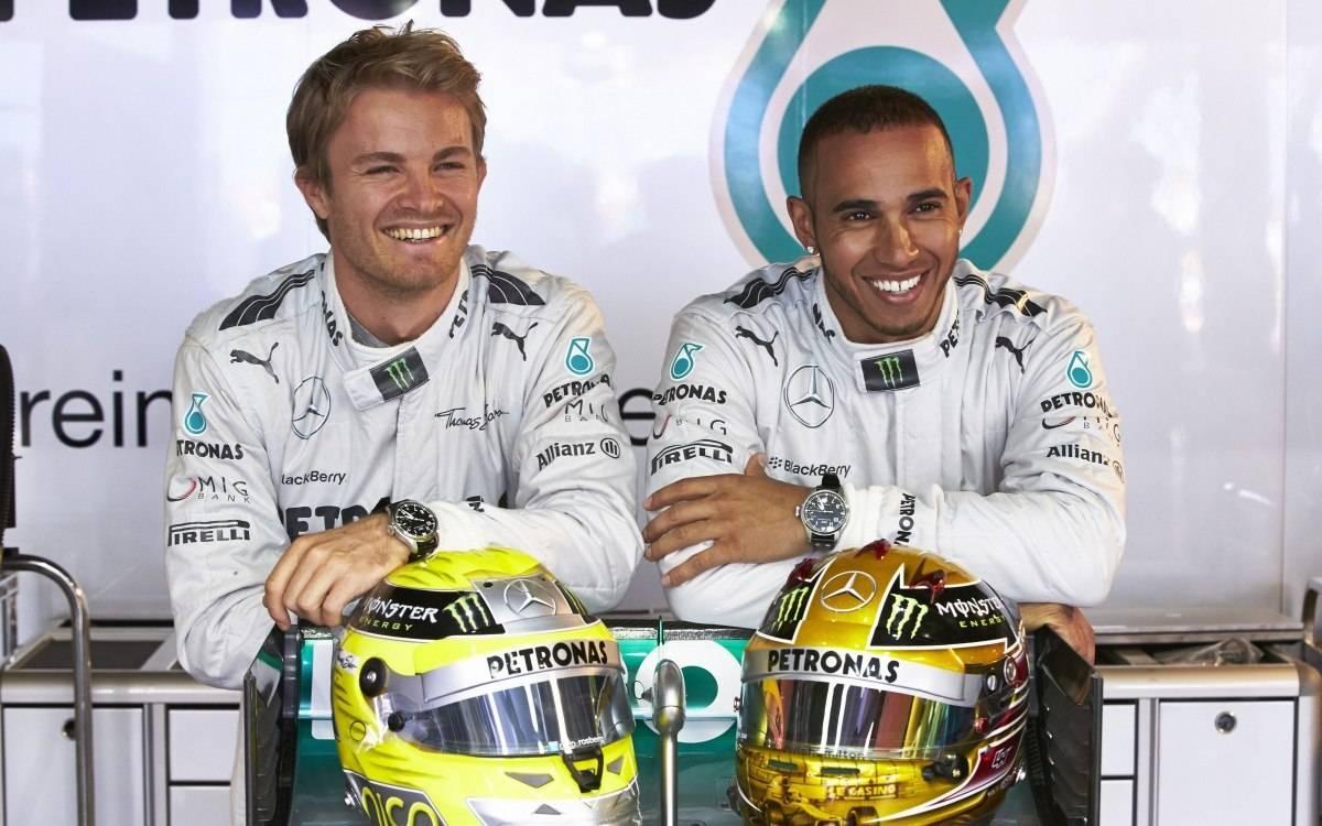 IWC Lewis Hamilton Nico Rosberg Big Pilot Ref. 5009