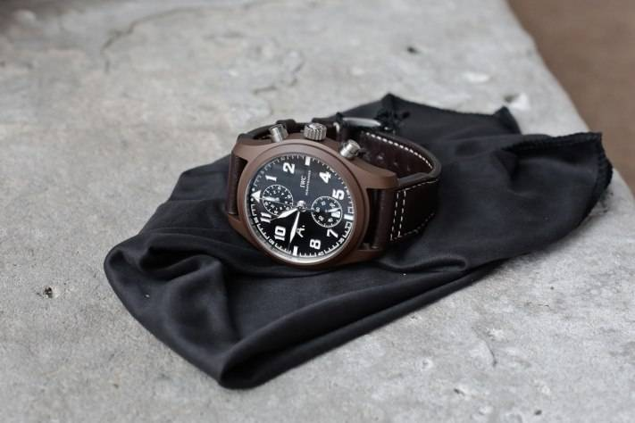 """Hands-On With The IWC Chronograph Edition """"The Last Flight"""""""