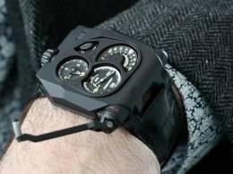 Hands-On With the Urwerk EMC Black
