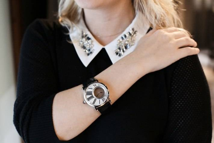 Worn By Women:  The Rotonde de Cartier L'Heure Mysterieuse