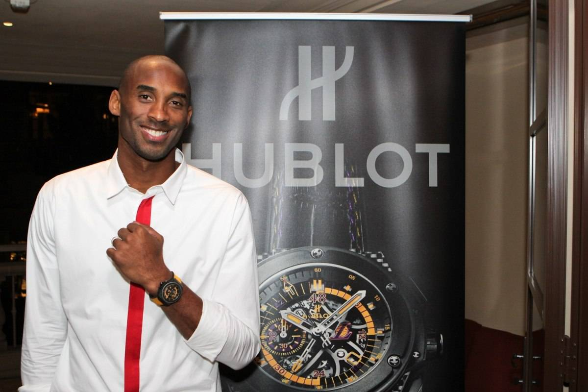 Kobe Bryant Introduces the New Hublot King Power Los Angeles Lakers Timepiece