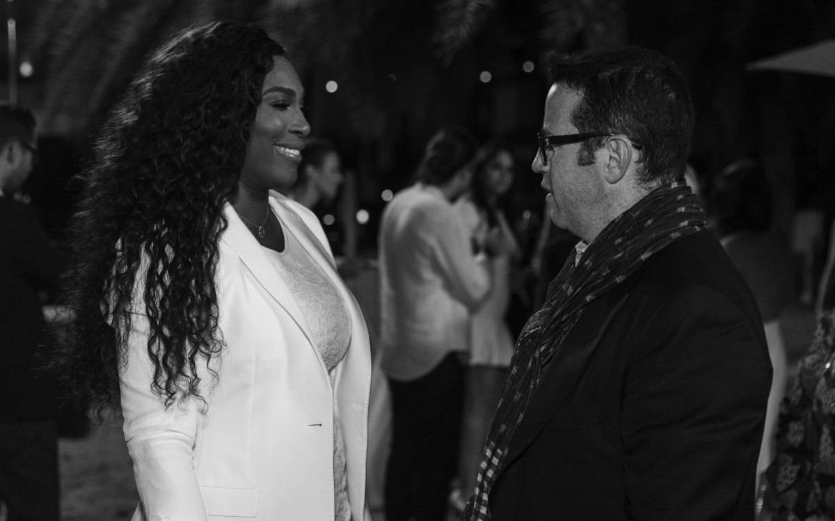 Serena Williams, welcomed to Audemars Piguet by CEO François-Henri Bennahmias
