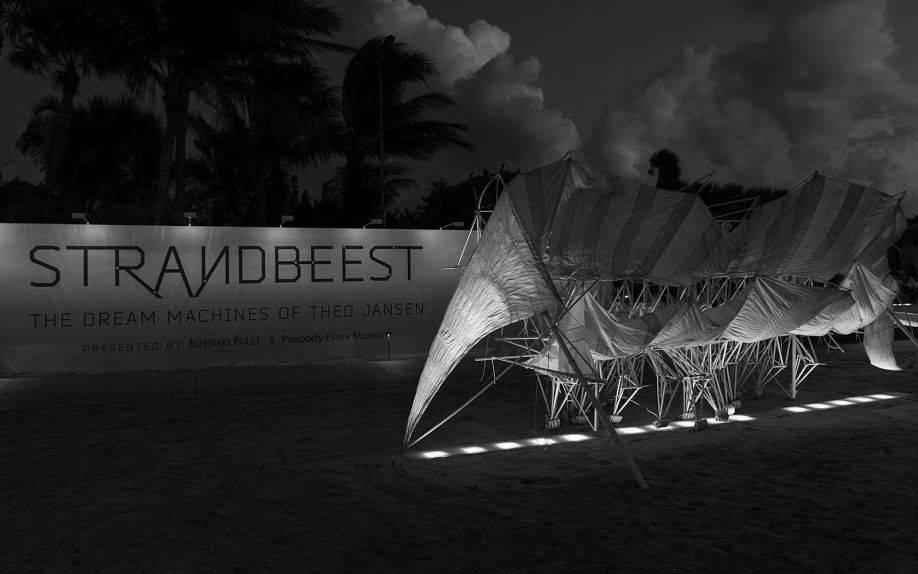 Strandbeest exhibition at Art Basel Miami