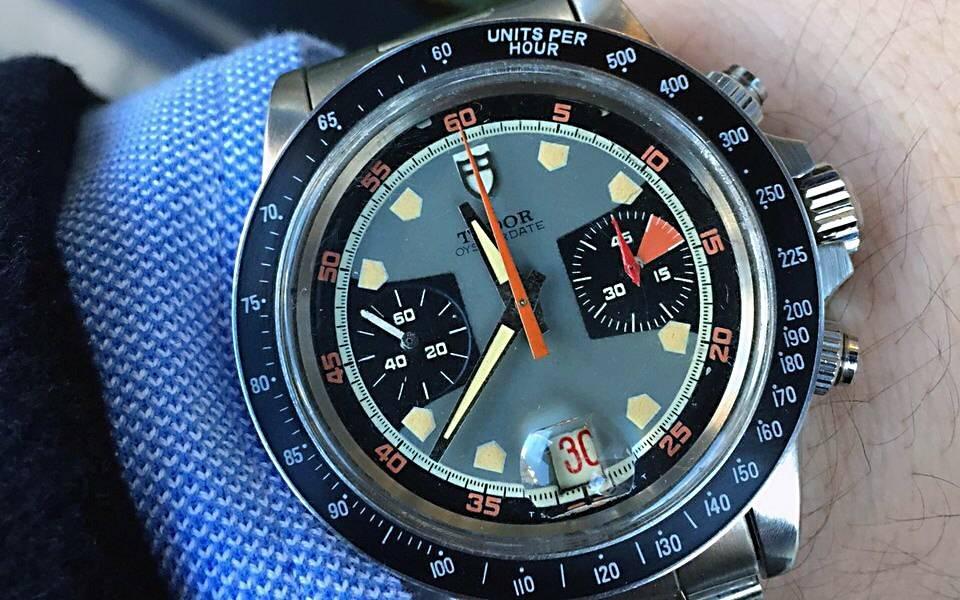 Tudor Chronograph ref 7031/7032