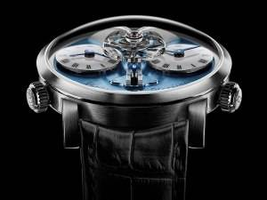 The MB&F Legacy Machine N°1 Arrives in Platinum Limited Edition
