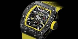 Richard Mille Limited Edition RM 011 Yellow Storm Blows Into US Boutiques