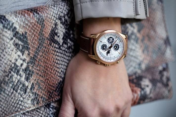 Worn By Women – Carl F. Bucherer Manero Chrono Perpetual Limited Edition