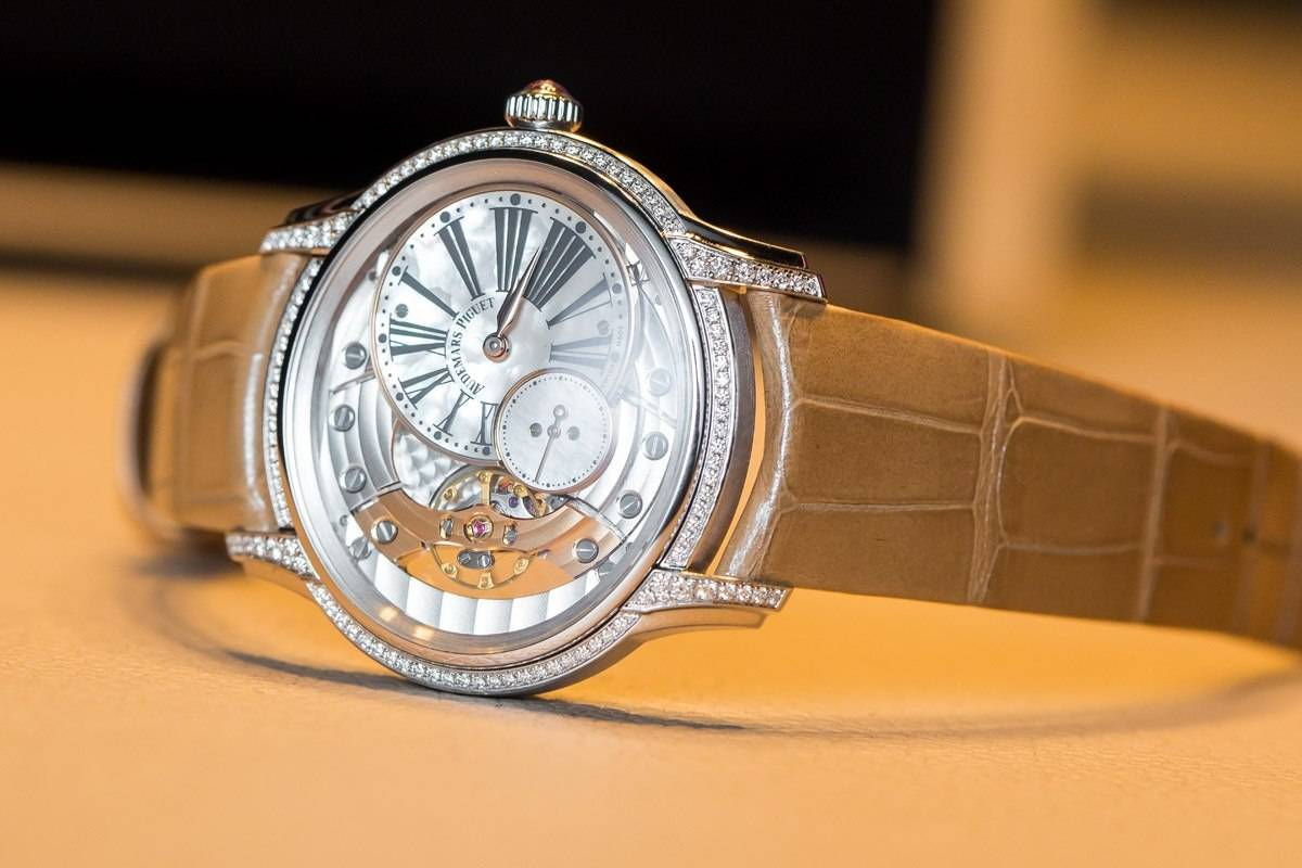 Replica Audemars Piguet Millenary Hand-Wound Ladies