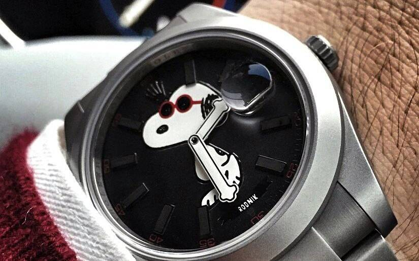Bamford Watch Department (BWD)and Snoopy