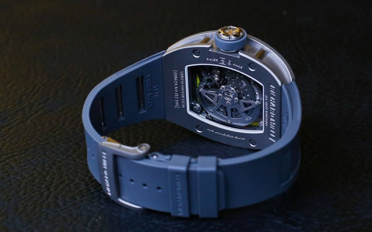 Photo Haute Time Richard Mille RM 029 All Grey Boutique Edition