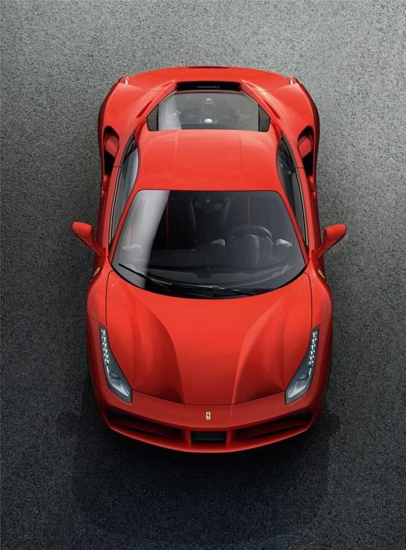 Ferrari 488 GTB Top