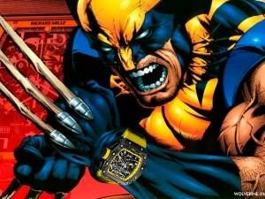 Super Watches: Wolverine And The Richard Mille RM 011 Flyback Chronograph Yellow Storm