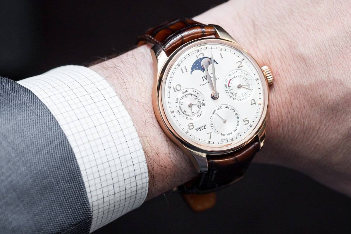IWC Portugieser Perpetual Calendar Reference 5033 Wrist