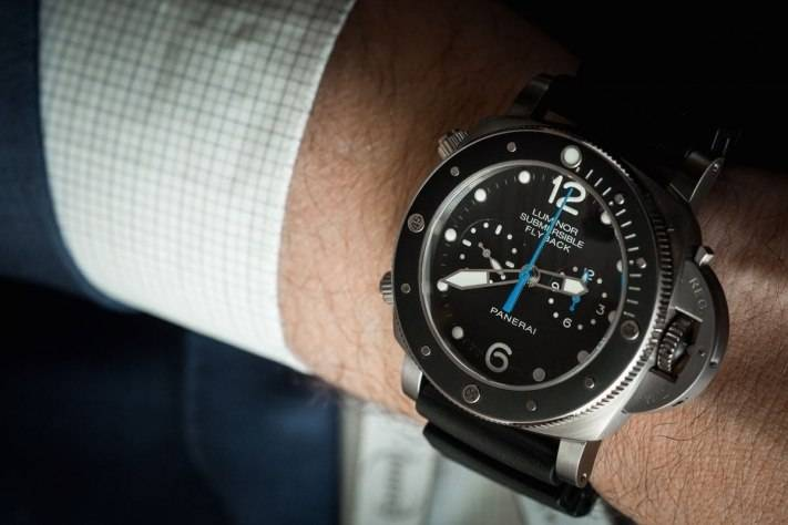 Panerai Luminor Submersible 1950 3 Days Chrono Flyback Automatic Watch