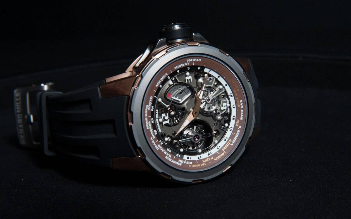 Richard Mille 58-01 Tourbillon World Timer  Limited Edition Watch