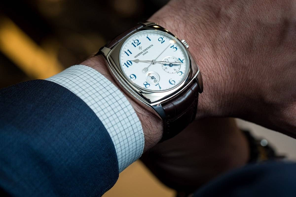 Vacheron Constantin Harmony Dual Time watch in white gold