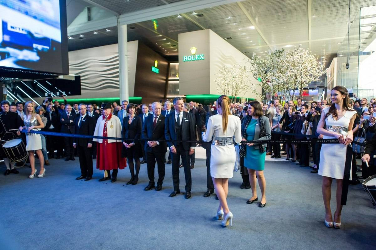Baselworld 2015 opening ceremony