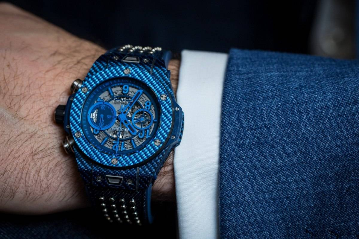 Hublot Big Bang UNICO Italia Independent Blue Watch