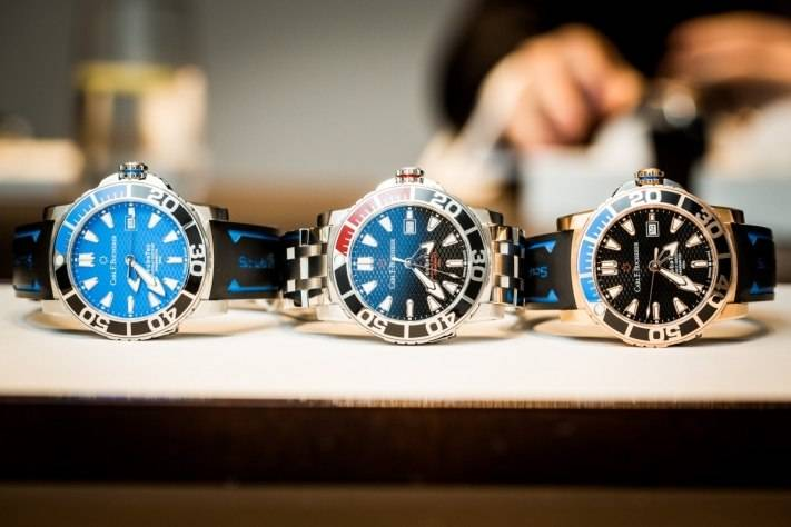 Carl F. Bucherer Patravi ScubaTec Watch Baselworld 2015