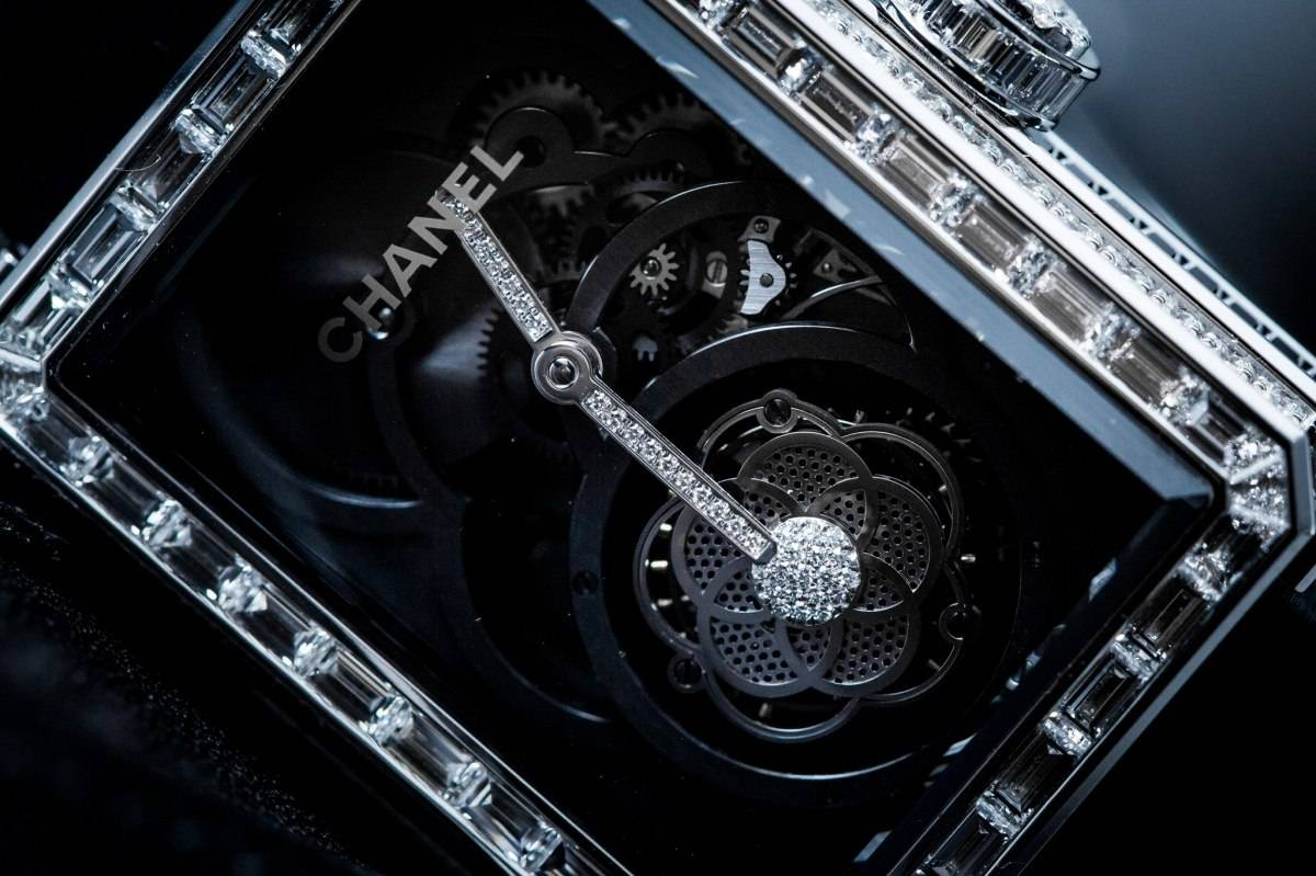 Chanel Première Flying Tourbillon Openwork Watch Baselworld 2015
