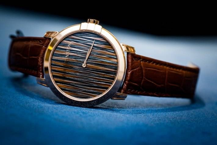 Harry Winston Midnight Feathers Automatic Watch Baselworld 2015