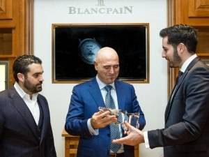 Blancpain CEO Marc A. Hayek Receives 2014 Watch Of The Year Award From Haute Time Magazine