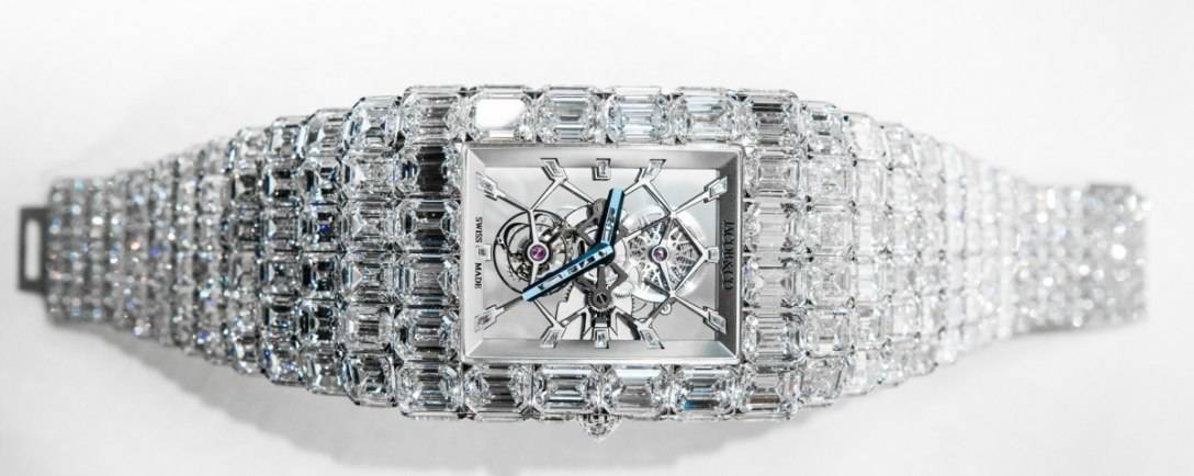 Jacob & Co. Unveils $18 million Diamond Watch