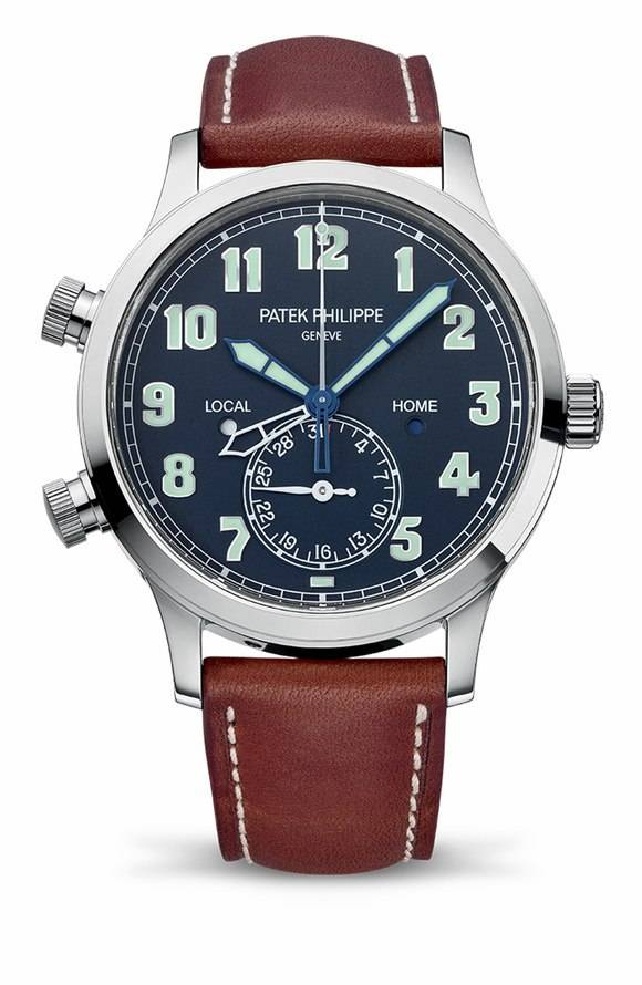Patek 5524g, Calatrava Pilot Travel Time