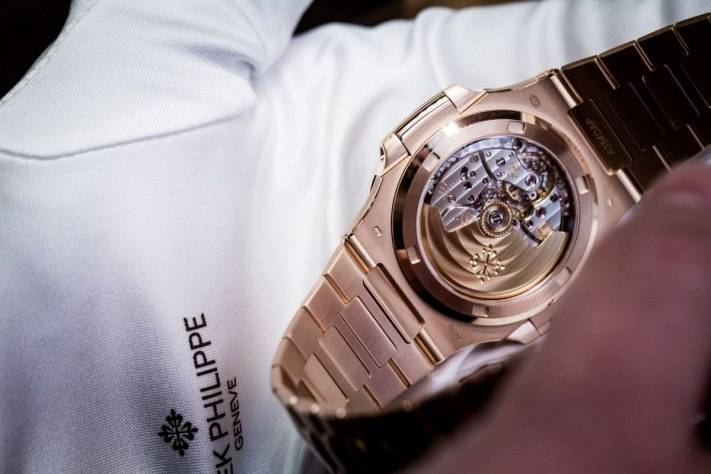 Patek Philippe Nautilus 5711 1R-001 Rose Gold Watch Baselworld 2015