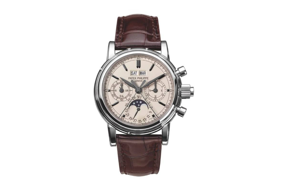 Patek Philippe Ref 5004 Split-Seconds Perpetual Calendar Steel Watch