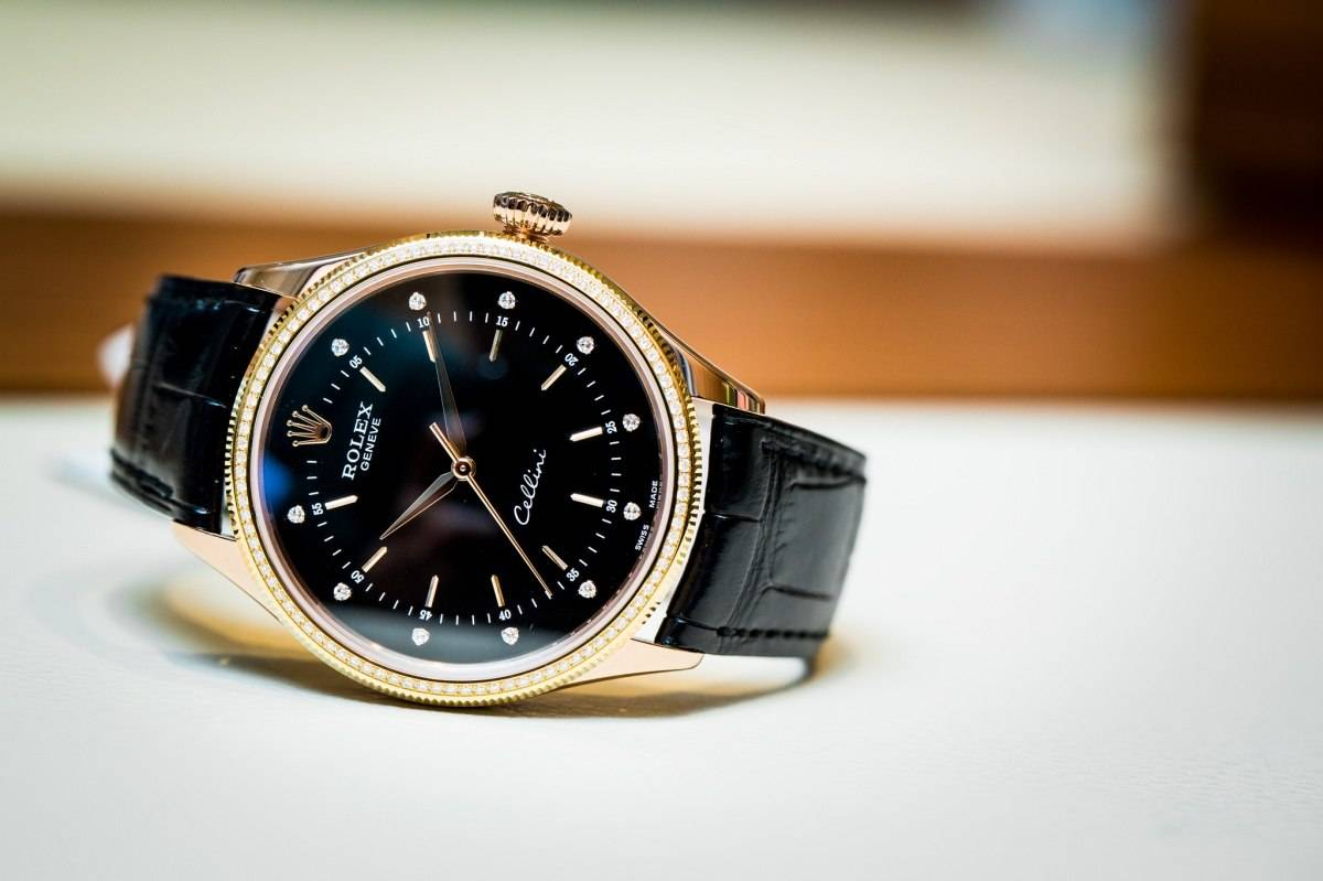 Rolex  Cellini Time Watch baselworld 2015