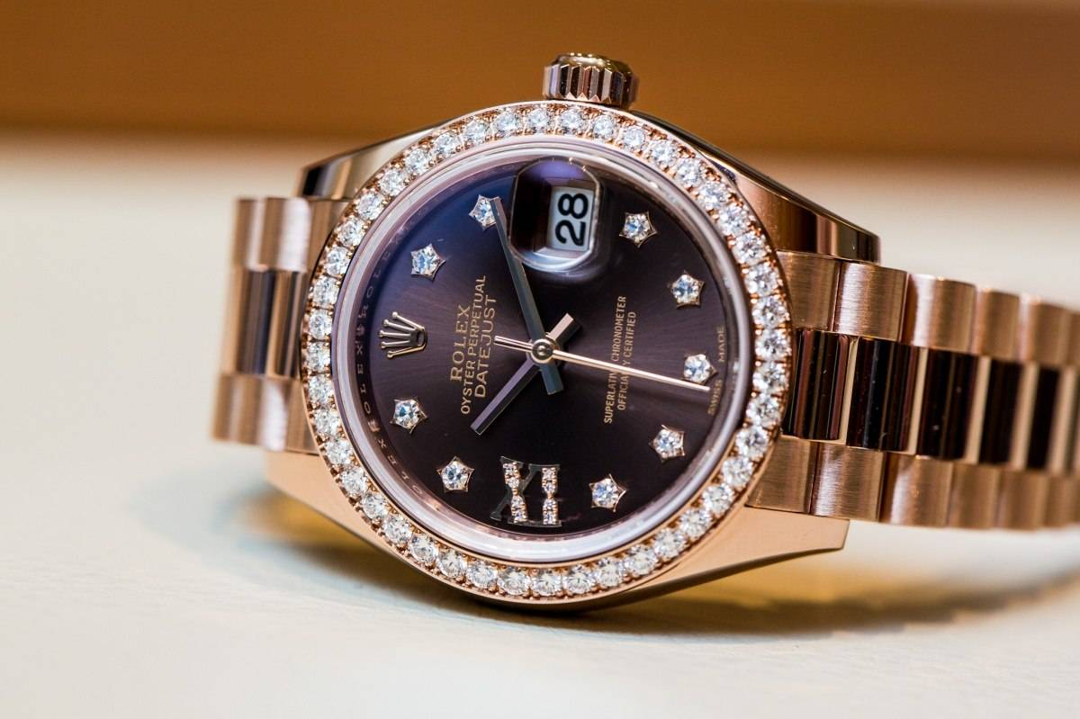 Rolex Lady-Datejust 28 Watch baselworld 2015