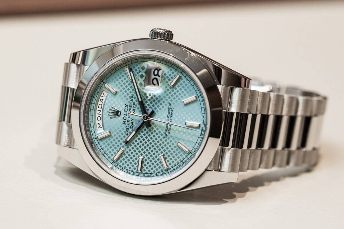 Rolex Oyster Perpetual Day-Date 40 Watch Baselworld 2015