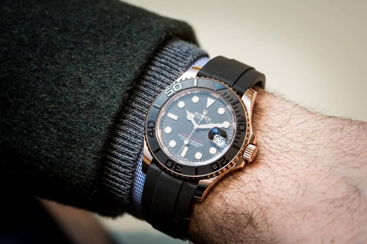 Rolex Oyster Perpetual Yacht-Master In 18k Everose Gold Watch Baselworld 2015