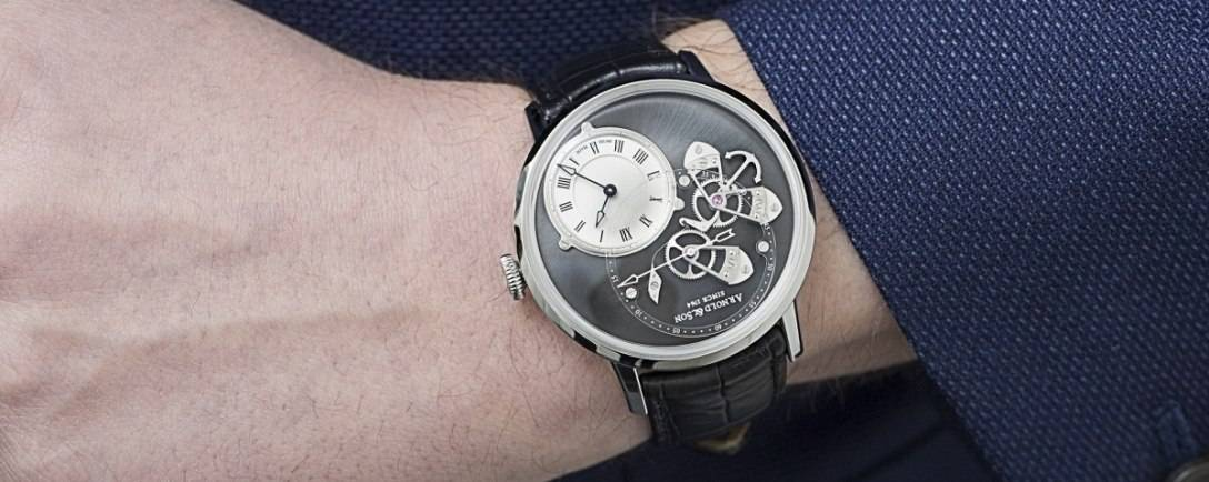 Introducing The Arnold & Son Instrument Collection DSTB Watch